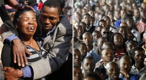 Memorial service held for 44 people killed in South African strikes