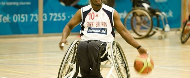 British Paralympic Basketball Star Shoots For Gold