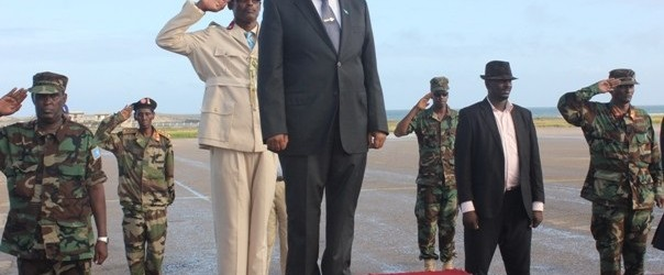 President Hassan in a working visit to UAE