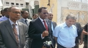 Somalia prime minister says a Turkish official and Somali student died in car blast attack