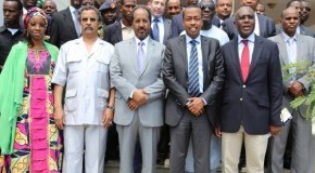 AU Peace and Security Council in historic visit to Mogadishu