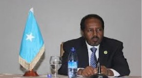 H.E Hassan .Sh. Mohamud Thanks the outgoing Prime Minister and praises the Parliament for upholding the constitution