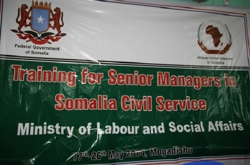 AMISOM commences Training for Senior Civil Servants in Somalia